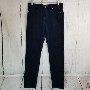 Buffalo David Bitton Corduroy Pants Sz 6 Navy Blue